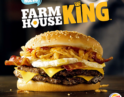 Farmhouse King - Comercial