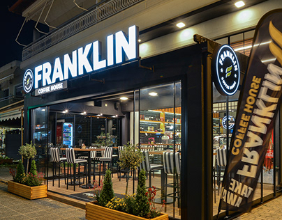 FRANKLIN Coffee House , Platamon , Pieria , Greece