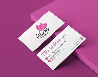 Glam Beauty branding
