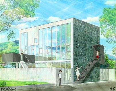 #archanime V01 Y House by Kazuyo Sejima