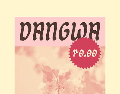 Dangwa Free — Brush Typeface