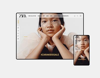 ZARA REDESIGN CONCEPT (UI/UX)