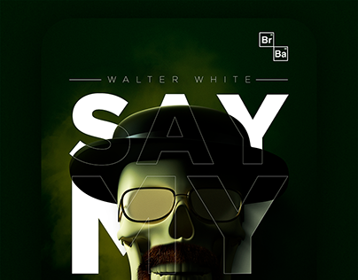 "Poster Design ""Breaking Bad"""