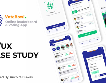 UI/UX Case study: Voting and Political Leaderboard