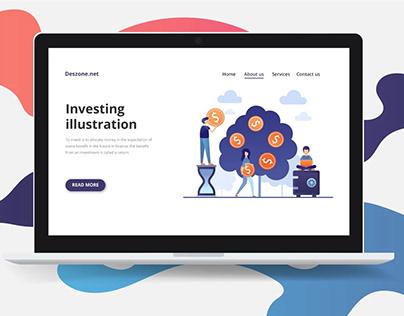 Investing Vector Free Illustration