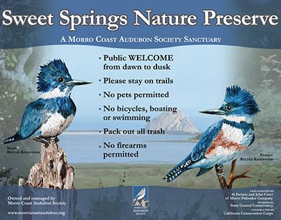 Morro Coast Audubon Nature Panels