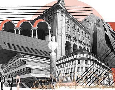 'Confrontation'- Digital Collage Work