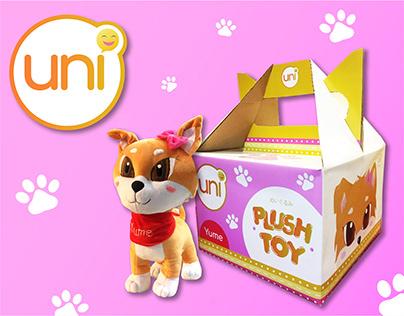Uni: Output 3 - Plush Toy