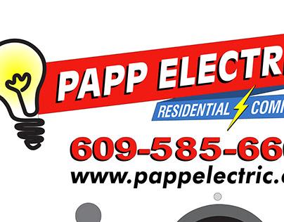Papp Electric Vehicle Graphics