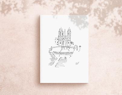 Illustration - Wedding Invitation
