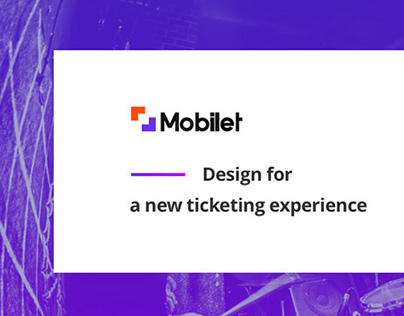 Mobilet UI & UX Design Project