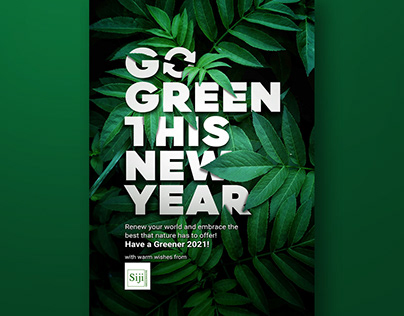 Go Green this New Year 2021
