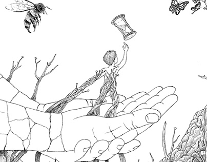 "Winter Project ""Evolution"" Cover + Illustration"