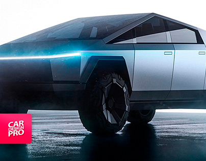 Tesla CyberTruck Design
