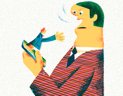 Illustration for RBC.Stile about new ethics