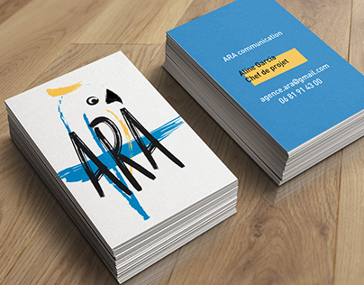 Branding for : ARA Communication