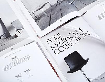 Fritz Hansen – Poul Kjærholm Collection Catalogue 2017