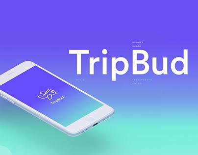 Tripbud - app ux ui design