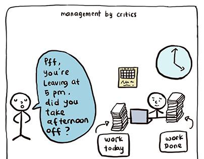 Comics about Management