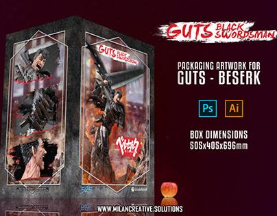 Berserk - Guts Packaging Artwork