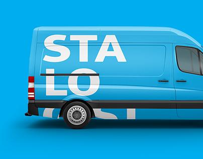 STALOGISTIC — Айдентика для логистической компании