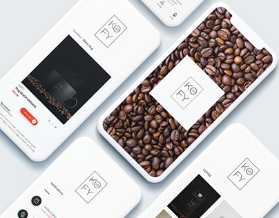 KOFY - Logo / App / Branding / Identity