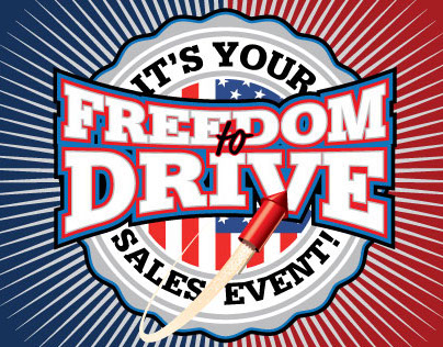 Freedom to Drive Sales Event