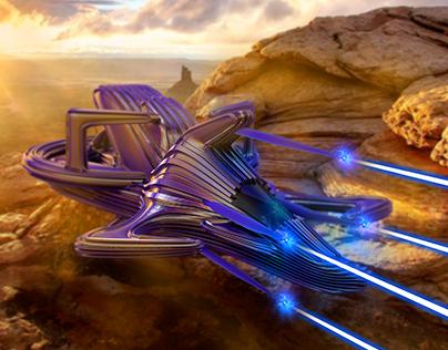 Lazer Spaceship