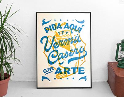 Poster Vermú Casero