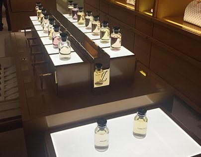Luxury Perfume Display