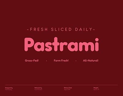 Pastrami - Rounded Sans Serif Font