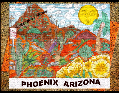 Good morning Arizona greeting Card
