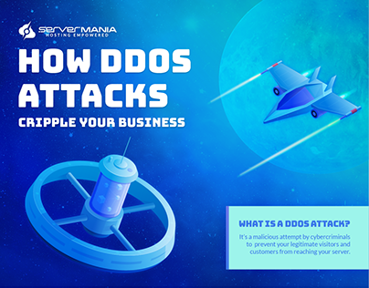 DDoS Attack Infographic
