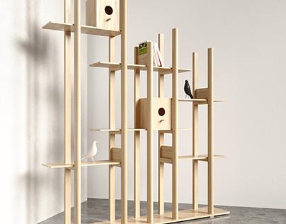Nesting rack