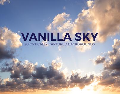 Vanilla Sky - 20 Optically Captured Backgrounds