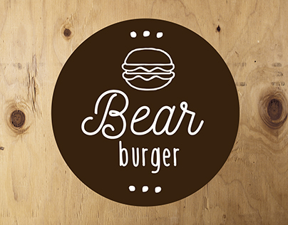 Logo Bear Burger