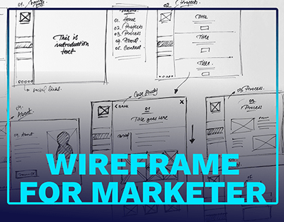 TUCAN Wireframe Landingpage Template Design