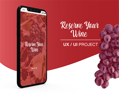 Reserve Your Wine UX | UI Project