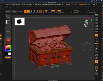 ZModeler, Hard Surface, Figurine 3D | Formation ZBrush