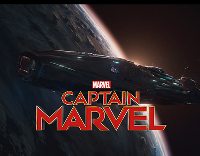 Captain Marvel - Matte Paintings