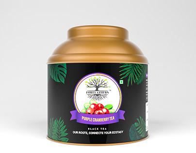 Forefathers Cranberry Premium Tea | Herbal Tea