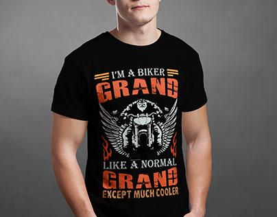 I'M A BIKER GRAND T-SHIRT