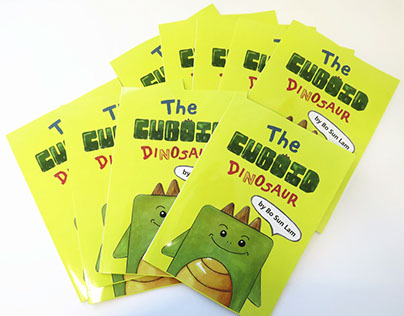 The Cuboid Dinosaur - children's book