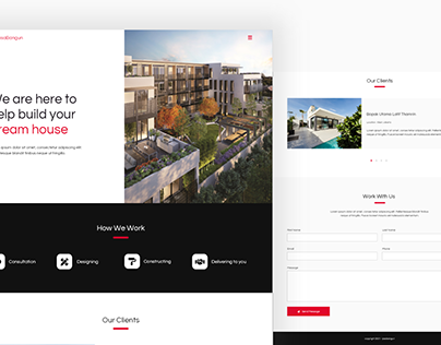 Jasabangun - Home Building Service Website