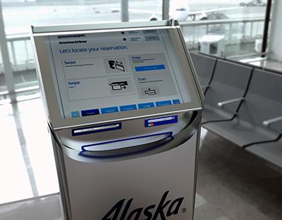 Alaska Check-In Kiosk