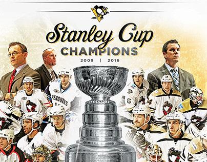 Wilkes-Barre/Scranton Penguins Stanley Cup Mural