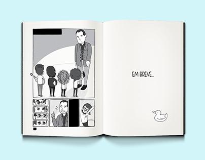 Nos Bastidores | Comic Book