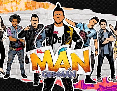 Propuesta Opening El Man es Germán - RCN televisión.