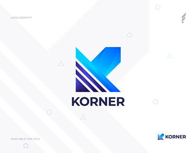 K Modern Logo Design - Modern K logo Mark