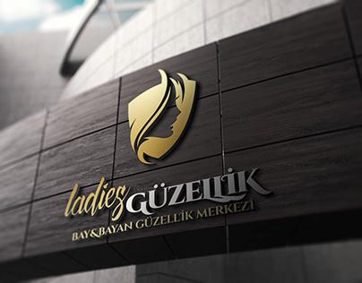 LADİES Güzellik Merkezi Logo Çalışması